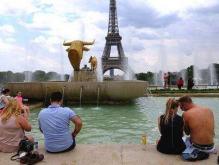 巴黎温度42.6度创历史新高 不愧为欧洲的火炉城市