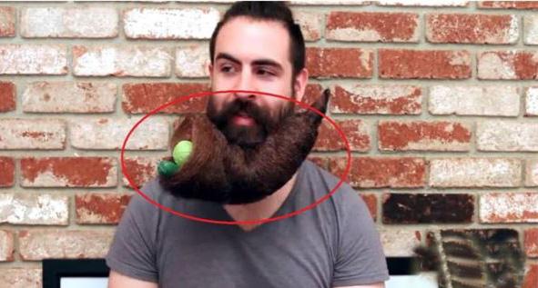 40年不刮胡子的大叔竟因次成为了网红