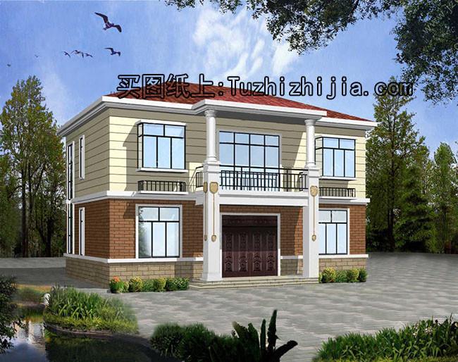 8米宽12米长房屋设计图