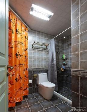 90平方三室二厅装修效果图 卫生间瓷砖