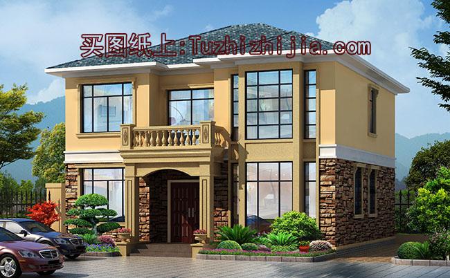 农村15万元二层小楼设计图,15万农村两层小别墅图片