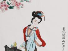 李白赞美杨贵妃的诗句
