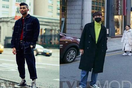 男士想要有潮流感?一件别致的加肥款裤子是不错的选择