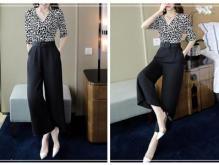 阔腿裤怎么搭配上衣显瘦有气场 这四种小心思穿法要学着点