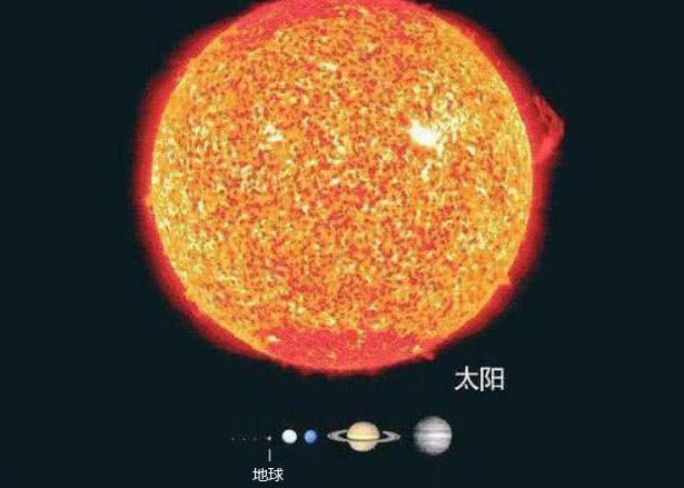 宇宙中的太阳到底有多大?