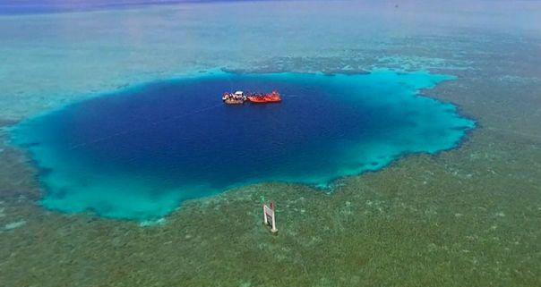 神秘海洋蓝洞——三沙永乐龙洞
