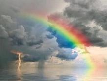 会带来好运的微信头像 好看的彩虹花朵月亮等自然景观头像